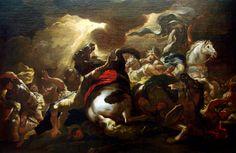 La conversion de Saint Paul by Luca Giordano (1690), Museum of Fine Arts of Nancy.