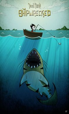 DON'T STARVE SHIPWRECKED JAWS