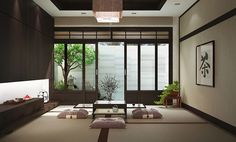 japanese living room ideas. White Ceiling And Soft Grey Paint Wall Color Zen Office Decor With Short  Table Pillows On Outstanding Home Creative Decorating Japanese House Living Room In Traditional Modern Style Use J