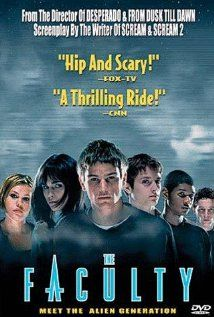 The Faculty. This movie started my crazy obsession with Josh Hartnett. I'm not crazy obsessed anymore though, just so you know.
