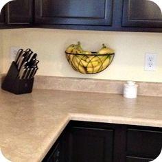 wall mount fruit basket