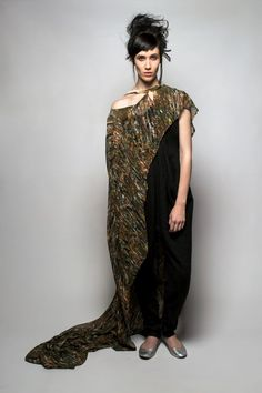 SIES!isabelle winter14 Tsego jumpsuit and Repunzel cape