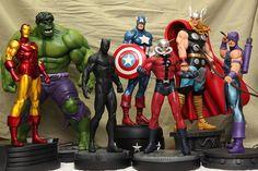Marvel Superheroes | Statue | Bowen Designs Marvel Comics
