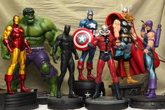 Marvel Superheroes | Statue | Bowen Designs Marvel Comics