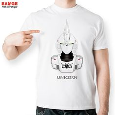 Japanese Anime T Shirt Design Inspired By Unicorn Gundam T shirt Style Cool Fashion Casual Novelty Tshirt Men Women Printed Tee-in T-Shirts from Men's Clothing & Accessories on Aliexpress.com | Alibaba Group