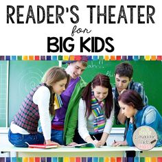 Reader's theater is the perfect tool to add to your upper grade ELA class for so many reasons-it is interactive and highly engaging, enhances student fluency, targets and enriches reading com…