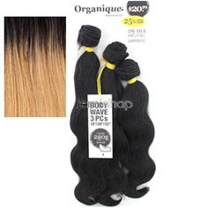 "Organique Body Wave 18""20""22"" - Color OT27 - Blend Weaving - 3 pcs"