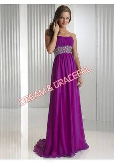 Strapless Lace Sash Satin Evening Dress