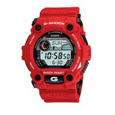 G-Shock Classic Red Timepiece