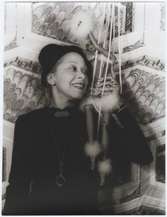 Nora Holt, photographed with a marionette by Carl Van Vechten on August 29, 1937, was first African American to earn a master's degree in music (Chicago Musical College, 1918) She was a music critic for two preeminent black newspapers, the  Chicago Defender and the New York Amsterdam News. Married five (or more) times, she was also a regular in the gossip columns thanks to her scandalous love life...
