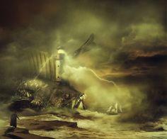 — Lighthouse keeper by AmandineVanRay on deviantART