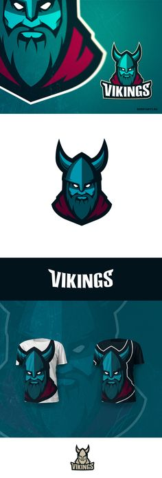 https://www.behance.net/gallery/27470921/Vikings-logo-for-sale