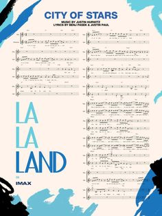 'La La Land' IMAX: See the New Poster, Sheet Music for 'City of Stars' | Variety