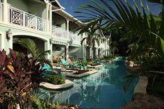 Swim-up Rooms - Sandals, Negril, Jamaica