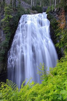 Photograph - Mount Rainier Narada Falls by Pierre Leclerc Photography , Mount Rainier National Park, Macro Shots, Beautiful Waterfalls, Washington State, Wild Flowers, Landscape Photography, Natural Beauty, Most Beautiful, National Parks