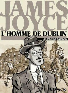 Futuropolis : James Joyce, un homme multiple - http://www.ligneclaire.info/futuropolis-james-joyce-un-homme-mis-a-nu-6307.html