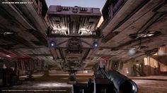 Unreal 4 Mos Eisley Fan Art part 3 - The Millenium Falcon