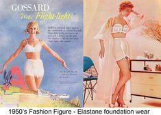 1950s-Fashion-The-Feminine-Figure-and-Silhouette-girdle-and-bra-foundation-wear.
