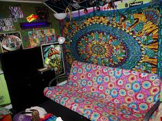 cool trippy room | tumblr rooms | pinterest | noc a trippy