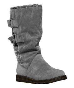 This Gray Luna Boot is perfect! #zulilyfinds