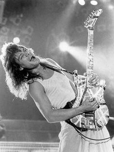 Eddie Van Halen | VAN HALEN from Stardom to Obscurity. | Pinterest ...