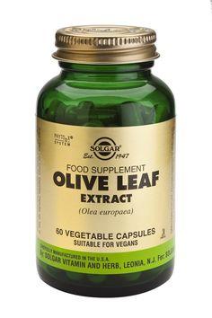 SolgarOlive Leaf (sfp) X 60 Herbalism, Vitamins, Nutrition, Leaves, Health, Vegetarian Diets, Food, January, Base