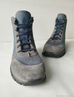 Felt Boots, Felted Slippers, Felting, Combat Boots, Winter, Image, Shoes, Fashion, Zapatos