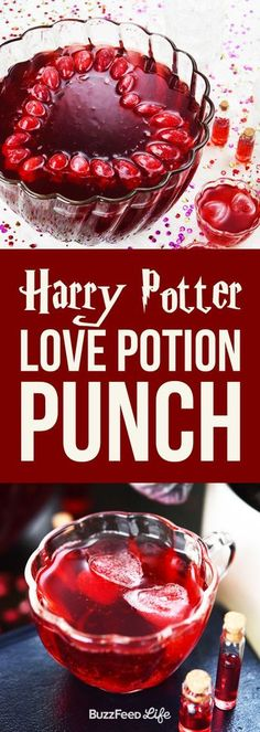 This Harry Potter Love Potion Punch Will Make Everyone Obsessed With You (for when I can drink again)