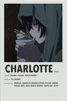 Relife Anime, Film Anime, Anime Titles, Otaku Anime, Anime Comics, Charlotte Anime, Animes To Watch, Anime Watch, Poster Anime