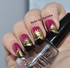 Nails by Malinka: Born Pretty plate BP-L018