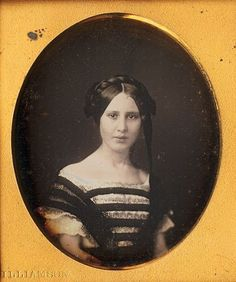 Unidentified woman, ca. 1850.