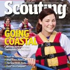 Camp Emerald Bay was featured on the cover of Scouting Magazine this Fall for a story that followed a venture crew's kayak trip around the caves and beaches on Catalina's West End. Check out the full story at http://scoutingmagazine.org/2012/08/venturers-explore-the-coastline-of-catalina-island-with-ocean-kayaks/. Happy paddling!