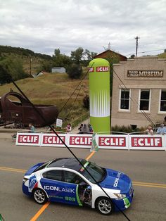 We like to ride in style!  The US pro Challenge was so wonderful! Here is a picture of the Icon LASIK car riding around town