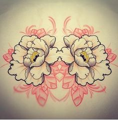 Tattoo beautiful - By Lucky Olelo Floral Back Tattoos, Flower Tattoos, Small Tattoos, Small Japanese Tattoo, Japanese Flower Tattoo, Tattoo Studio, Japan Tattoo Design, Black Girls With Tattoos, Intricate Tattoo