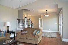 #PendantLight #CrownMolding #HardwoodFloor #FrenchDoors #Livingroom #Staircase