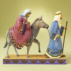 """The Journey that Changed the World"" - nativity by Jim Shore Heartwood Creek Nativity Collection - from AnnsCardsAndGifts"