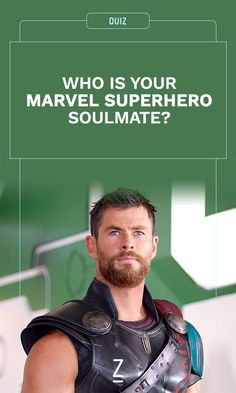 Take the Quiz: Who is your Marvel superhero soulmate?