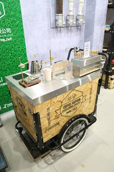 ideas food truck ideas coffee business for 2019 Coffee Carts, Coffee Truck, Bike Coffee, Food Trucks, Mobile Food Cart, Mobile Coffee Shop, Bike Food, Coffee Trailer, Ecole Design