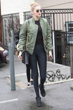 Gigi Hadid: Style File Glamour Magazine UK waysify