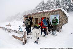 Cabane de la Balmeta (aux Bouillouses, Pyrénées-Orientales) #neige Destinations, Photos, Snow, Outdoor, Snowshoe, Mountain, Cabin, Outdoors, Pictures