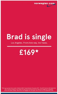 Norwegian Airlines: Brad