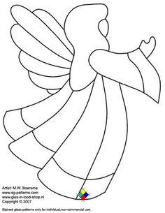 Image detail for -Stained Glass Patterns for FREE / glass pattern 075 printables christmas printables before christmas printables before christmas printables free christmas printables Stained Glass Angel, Stained Glass Christmas, Faux Stained Glass, Stained Glass Projects, Fused Glass, Applique Templates, Applique Patterns, Christmas Angels, Christmas Crafts