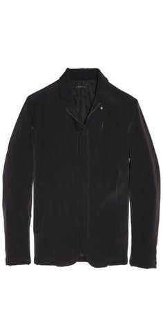 Theory Hybrit Thayne Convertible Sport Coat Sport Coat, Theory, Convertible, Leather Jacket, Athletic, Coats, Jackets, Fashion, Studded Leather Jacket