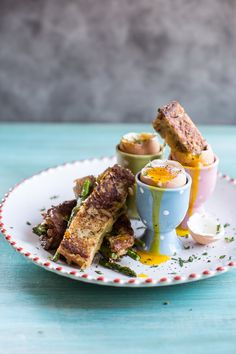 Drippy Eggs with Asparagus French Toast Grilled Cheese Soldiers   Half Baked Harvest