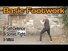 Basic Footwork for Self Defence, Street Fight, MMA, etc | GNT - YouTube