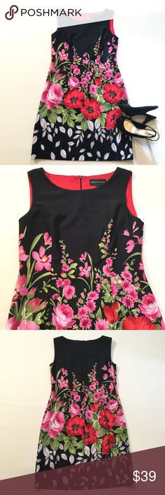 "SALEConnected Apparel Dress Size 10. Back zipper. Bust approx 38"". Length approx 37.5"". 97% polyester 3% spandex. Connected Apparel Dresses Mini"