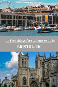 Planning a trip to Bristol on a student budget? Read my post and check out 15 free things for students to do in Bristol, UK. Bristol Cathedral, Bristol City Centre, Visit Bristol, Bristol Uk, Bristol Balloon Festival, Severn Beach, Bristol Balloons, Bristol Harbourside, Moving To The Uk