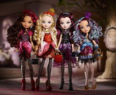 Ever After High dolls | They are not even out yet and I am already addicted.