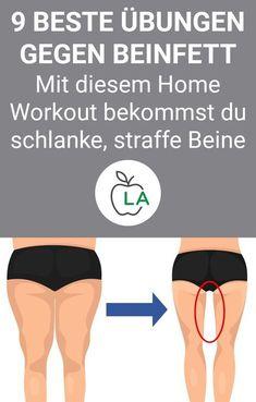 Beinfett verlieren: Schlanke Beine durch diese Übungen