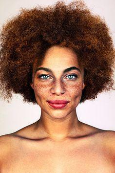 """Der Fotograf Brock Elbank hat sich für sein Foto-Projekt #Freckles auf die Suche nach """"unglaublichen Persönlichkeiten"""" gemacht."""